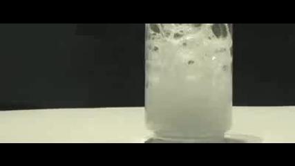 трик - загасяне на свещ със въглероден диоксид