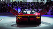 China: MG unveils all-electric supercar 'Cyberster' at Auto Shanghai