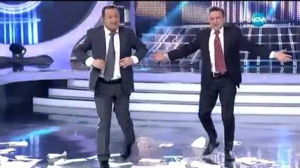 """Зуека и Рачков танцуват """"гръцка класика"""" - Като две капки вода (06.04.2015г.)"""