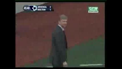Arsenal 2 - 1 Bolton Cesc Fabregas