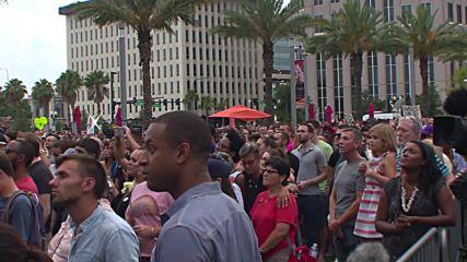 USA: Orlando pays tribute to victims of LGBT nightclub shooting