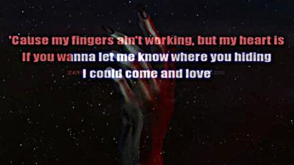Zayn - Fingers Lyric Video