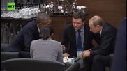 Obama and Putin Meet One-on-One on G20 Sidelines
