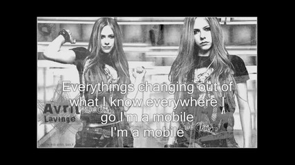 Avril Lavigne - Mobile + Lyrics