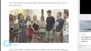 High School Seniors Donate Money to Principal With Cancer