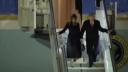 France: Trump and Melania arrive in Paris for WWI centenary commemorations