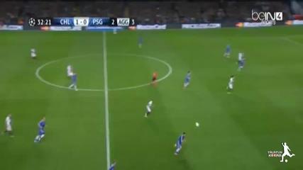 Челси нокаутира Пари Сен Жермен в Лондон и се класира на полуфинал в Шампионската Лига