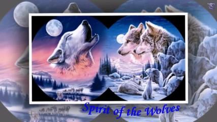 Духът на вълците ... (painting)