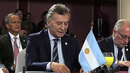 Uruguay: Argentina's Macri calls for action on Venezuela at Mercosur meet