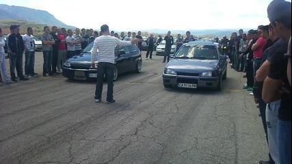 Opel Astra C20let vs. Opel Kadett C20let
