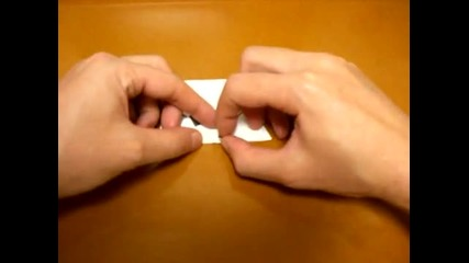 Как се прави Панда от хартия *оригами*