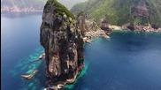 Кагошима, Япония - островите, заснети от дрон