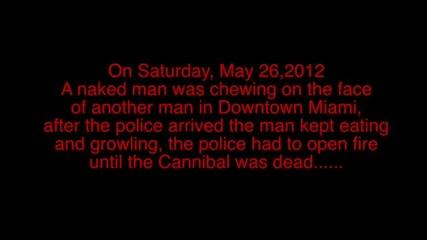 100% смях Зомби плаши хората в Маями