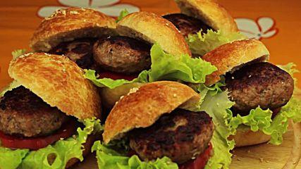 Домашни хамбургери