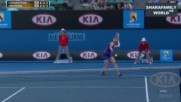 Maria Sharapova - Petra Kvitova Australian Open 2012 Highlights