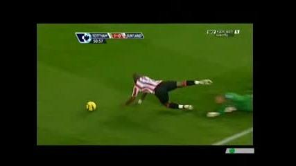 Тотнъм 2 - 0 Съндерланд /07.11.2009/ [][][] Tottenham 2 - 0 Sunderland /07.11.2009/