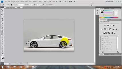 Как да сложите нитро на кола с Photoshop [hq]