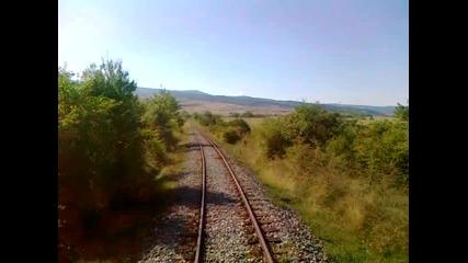 Наполовина във влака :d