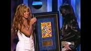 Майкъл и Бионсе [radio Music awards 2003]
