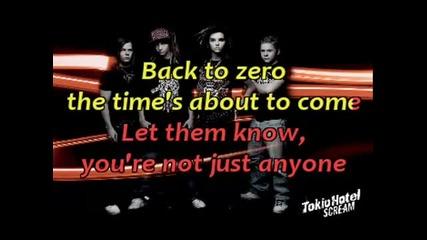 Scream - Tokio Hotel (karaoke video)