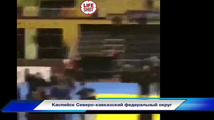 Фенове и джудисти се мляха на турнир по джудо в Дагестан