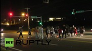 USA: Activists confronted by police as Ferguson protests continue