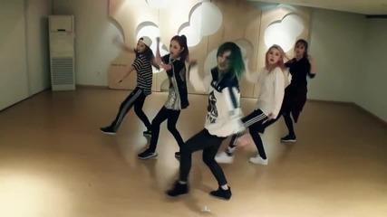 4minute - 미쳐(crazy) (choreography Practice Video)