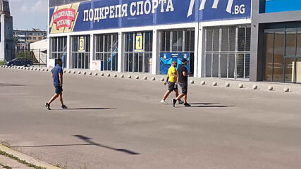 Степан Хиндлиян пристига за срещата на Герена
