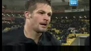 Bloody All Blacks Captain Richie Mccaw rugby interview