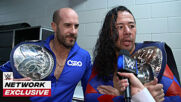 Shinsuke Nakamura & Cesaro plan to walk out as champions: WWE Network Exclusive, Sept. 25, 2020