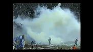 Levski Sofia ultras and Dinamo Zagreb (balkan Brothers)