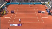2014 Madrid Final Mария Шарапова - Симона Халеп част 1