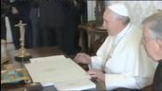 Pope Praises Water as 'most Essential Element for Life,' Wants Protection and Access for All