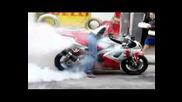 Yamaha Yzf R1 Burnout