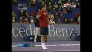 Federer Vs Ferrer - Shanghai 07 Pt 6