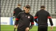 Байерн Мюнхен се подготвя за Рома