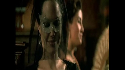 Angelina Jolie the mask