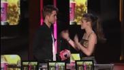 Mtv movie awards - Kristen Stewart And Robert Pattinson Win Best Kiss (hq)