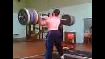 Вдигане На Тежести - Angel Popov - 210kg