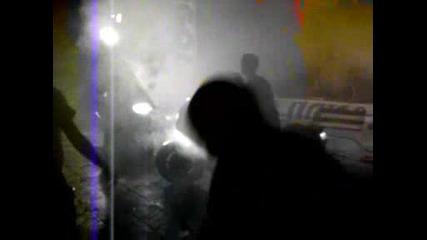 Мотосъбор Видин (14.08.2009) Палене на гуми