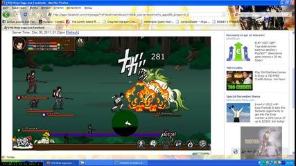 Ninja Saga : Ginkotsu Boss Fight 10. lvl