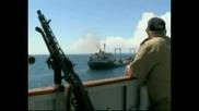 Сомалийски пирати отвлякоха кораб под американски флаг