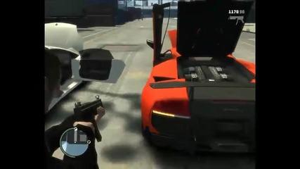 Gta 4 Lamborghini, Porsche and Mercedes