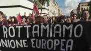 Italy: Thousands hit the streets of Rome to protest against Renzi