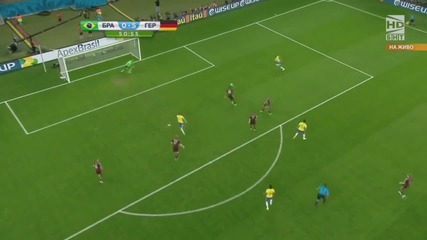 Световно първенство по футбол 2014 Бразилия - Германия - Второ полувреме Част 1/4