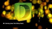 Mk - Burning (james Talk & Ridney Remix)