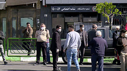 Iran: 'We have done all of Tehran' - workers disinfect streets to prevent covid spread