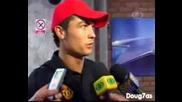 Cristiano Ronaldo Интервю За Jogo Aberto