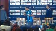 Роналдиньо обелече новия си екип