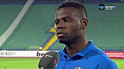Бабатунде: Имаме една мечта - да направим Левски шампион